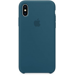 Силиконовый чехол Apple Silicone Case Cosmos Blue (1:1) для iPhone XS Max
