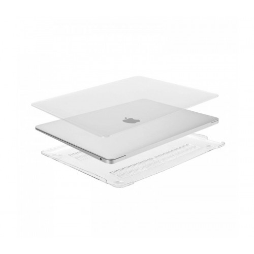Чехол накладка для Apple MacBook Air 2018 (Матово/прозрачный)