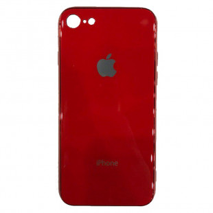 Накладка Apple IPhone 7/8 Glass Case (Red)