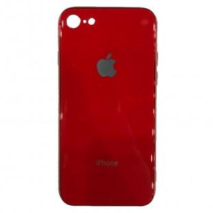 Накладка Apple IPhone 7/8 Glass Case (Red)