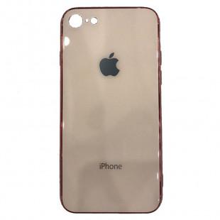 Накладка Apple IPhone 7/8 Glass Case (Peach)