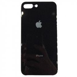Накладка Glass Case Apple iPhone 7/8 Plus (Черный)