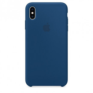 Силиконовый чехол Apple Silicone Case Blue Horizon (1:1) для iPhone XS Max