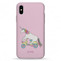 Чехол Pump Tender Touch iPhone XS Max Unicorn Biker
