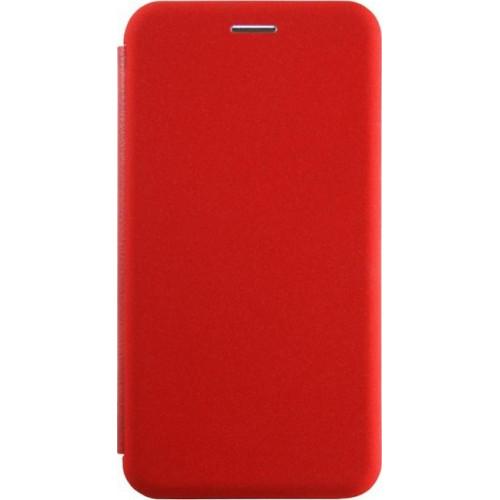 Чехол-книга INAVI Samsung A6 (2018) A600 (красный)
