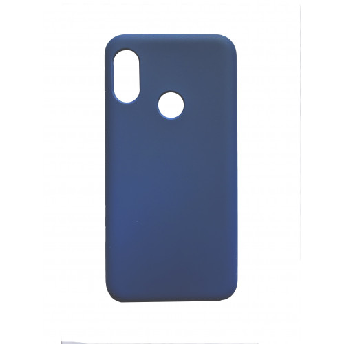 Силикон Soft Touch Xiaomi Mi A2 Lite/ 6 Pro (Синий)