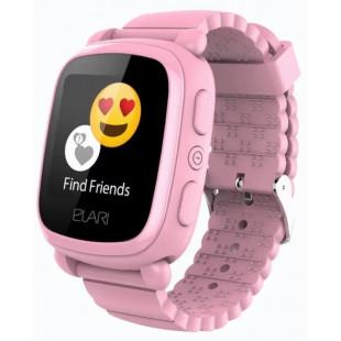 Детские часы ELARI KidPhone 2 Pink с GPS-трекером (KP-2P)