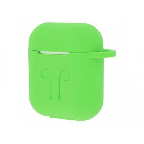 Чехол Silicone Case Apple AirPods Green