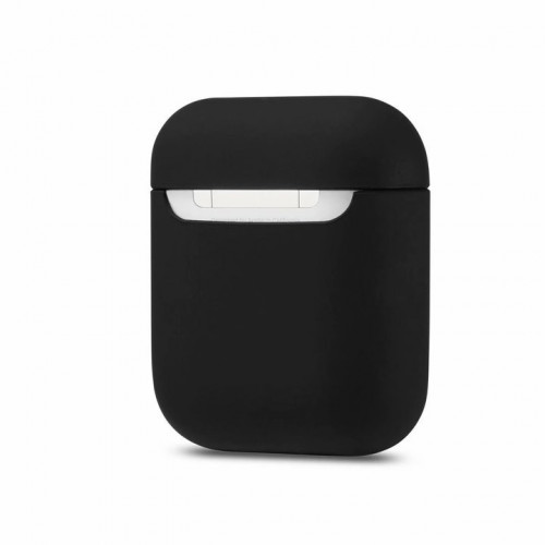Чехол Silicone case Ultra Thin AirPods Black