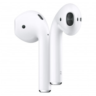 Беспроводные наушники Apple AirPods 2 with Wireless Charging Case (MRXJ2)