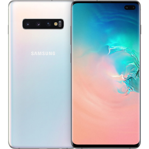 Samsung Galaxy S10 Plus 2019 8/128Gb Prism White G9750 (Snapdragon)