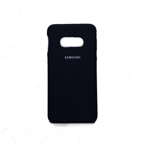 Силикон Soft Touch Samsung S10e G970 (Black)
