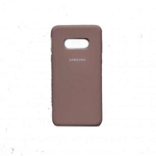 Силикон Soft Touch Samsung S10e G970 (Pink Sand)