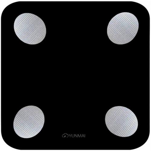 Весы напольные электронные Yunmai Balance Smart Scale Black (M1690-BK)