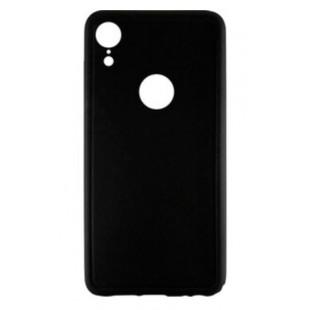 Силиконовый чехол Graphite iPhone XR (черный)