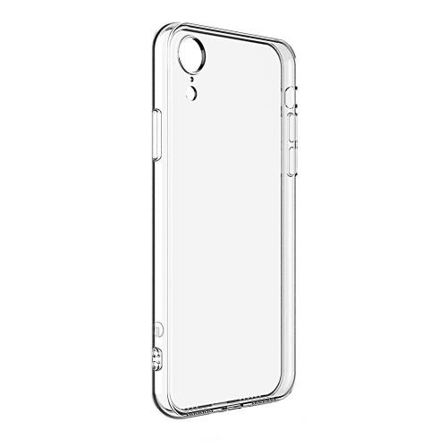 Силиконовый чехол  iPhone XR (прозрачный)
