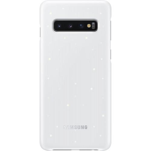 Чехол LED Cover S10 EF-KG973CWEGRU White