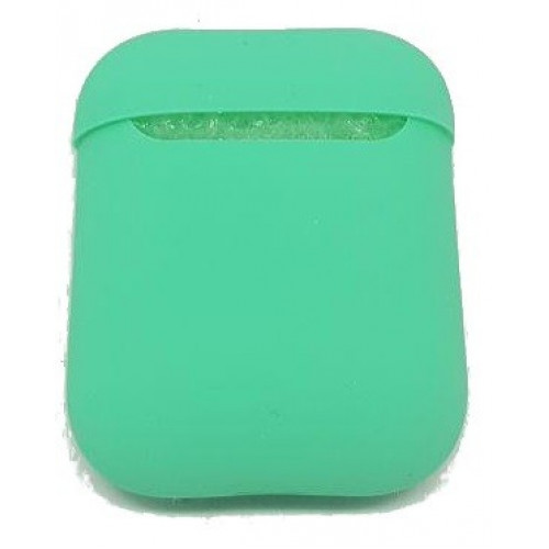 Чехол Silicone case Ultra Thin AirPods Green