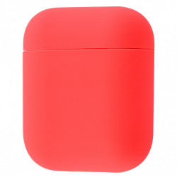 Чехол Silicone case Ultra Thin AirPods Watermelon Red