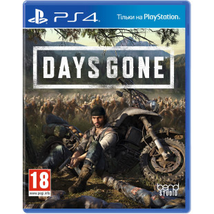 Диск PS4 Days Gone (Русская версия)
