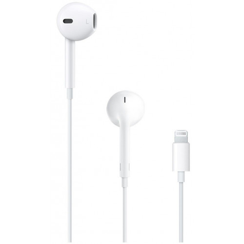 Наушники с микрофоном Apple EarPods with Lightning Connector (MMTN2)