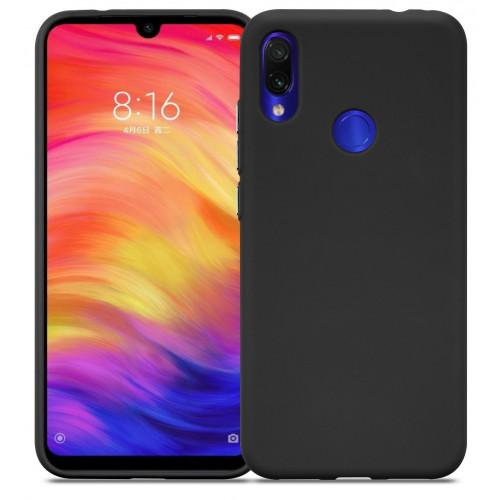 Силикон DEF Rubberized TPU Black для Xiaomi Redmi Note 7