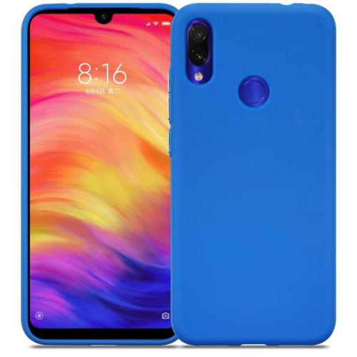 Силикон DEF Rubberized TPU Blue для Xiaomi Redmi 7