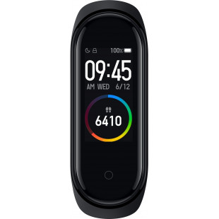 Фитнес-браслет Xiaomi Mi Smart Band 4 Black (XMSH07HM) (MGW4052GL)