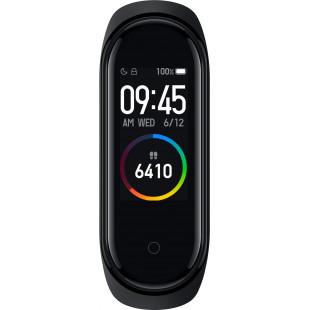 Фитнес-браслет Xiaomi Mi Smart Band 4 Black (XMSH07HM) (MGW4052GL)