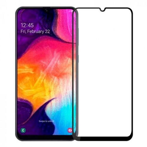 Защитное стекло 5D Samsung Galaxy A70 A705 (Black)