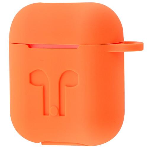 Чехол Silicone Case Apple AirPods Orange