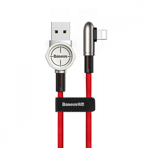 Кабель Baseus Exciting Lightning Cable 2.4A 1m Red (CALCJ-A09)