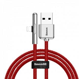 Кабель Baseus Lightning Iridescent Lamp Mobile Game Red 1м (CAL7C-A09)