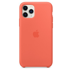Чехол Apple iPhone 11 Pro Silicone Case - Clementine/Orange (MWYQ2)