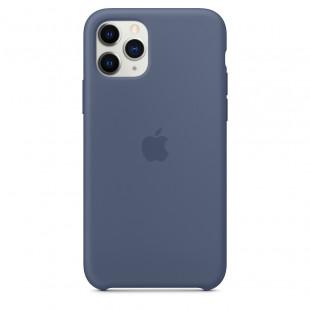 Чехол Apple iPhone 11 Pro Silicone Case - Alaskan Blue (MWYR2)