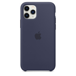 Чехол Apple iPhone 11 Pro Silicone Case - Midnight Blue (MWYJ2)