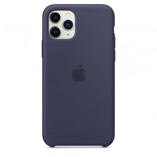 Чехол Apple iPhone 11 Pro Silicone Case - Midnight Blue (MWYJ2)