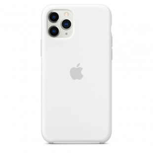 Чехол Apple iPhone 11 Pro Silicone Case - White (MWYL2)
