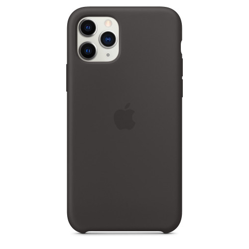 Чехол Apple iPhone 11 Pro Silicone Case - Black (MWYN2)