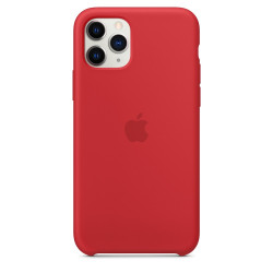 Чехол Apple iPhone 11 Pro Silicone Case - PRODUCT RED (MWYH2)