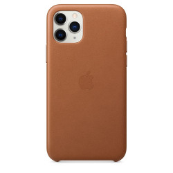 Чехол Apple iPhone 11 Pro Leather Case - Saddle Brown (MWYD2)