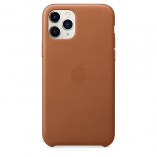 Чехол Apple iPhone 11 Pro Leather Case - Saddle Brown (MWYD2)