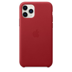 Чехол Apple iPhone 11 Pro Leather Case - PRODUCT RED (MWYF2)