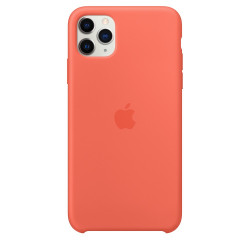 Чехол Apple iPhone 11 Pro Max Silicone Case - Clementine/Orange (MX022)
