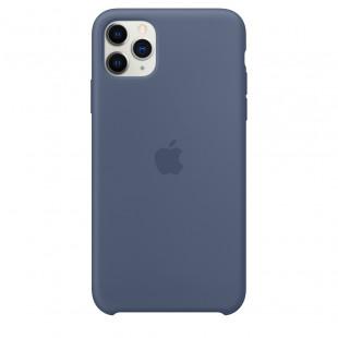 Чехол Apple iPhone 11 Pro Max Silicone Case - Alaskan Blue (MX032)