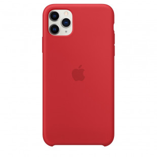 Чехол Apple iPhone 11 Pro Max Silicone Case - PRODUCT RED (MWYV2)