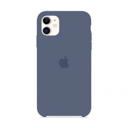 Чехол Apple Silicone Case Alaskan Blue (1:1) для iPhone 11