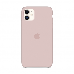 Чехол Apple Silicone Case Pink Sand (1:1) для iPhone 11