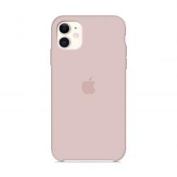 Чехол Apple Silicone Case Pink Sand (1:1) для iPhone 11