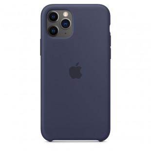 Чехол Apple Silicone Case Midnight Blue (1:1) для iPhone 11 Pro